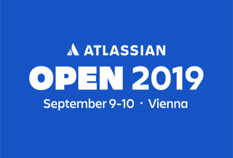 Banner Atlassian Open 2019 in Vienna